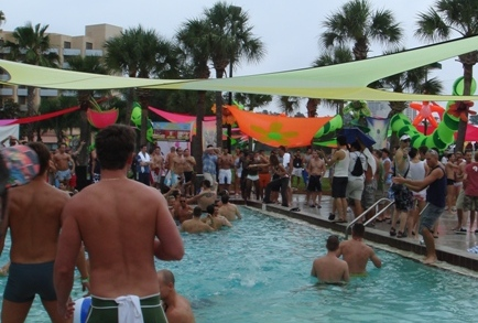 Gay Days Pool Parties