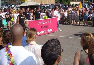 the l word float on gay parade