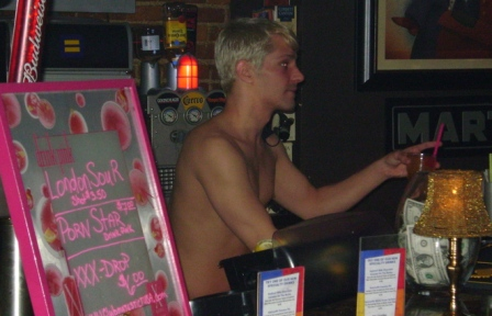 hot bartender