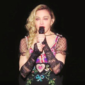 Madonna Paris attacks