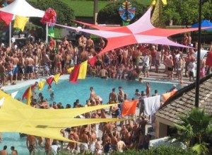 gay days pool party