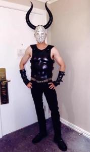 matador demon costume madonna