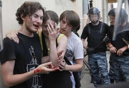 russianpolicebeatgays
