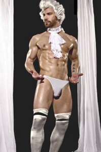 sexy gay amadeaues colonial costume